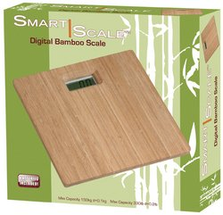 Euro-Home Gorgeous Bamboo Digital Scale, Multicolor