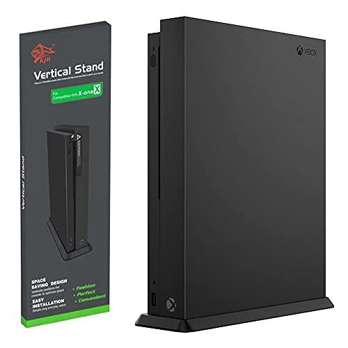 Soporte Vertical para Xbox One X Consola, Negro