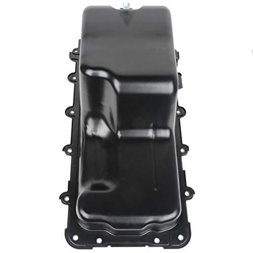 ROADFAR Engine Oil Pan Drain Plug Kits for 02 03 04 05 06 07 08 09 10 11 12 Ford Expedition F-150 Lincoln Blackwood Mark LT Cummins Diesel 4.2L 4.6L 5.4L with OE 264-044 Oil Drep Pan