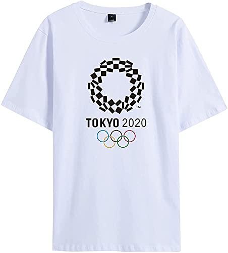 東京オリンピック Tシャツ 2021 日本のオリンピック 2021 Tokyo 記念 グッズ 東京オリンピック グッズ 半袖 メンズ レディース キッズ (White 3,M)