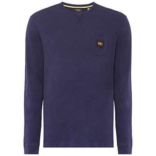 O'NEILL LM The Essential L/SLV T-Shirt pour Homme S Bleu Encre