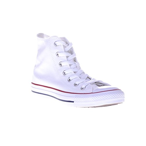 Converse Youth Chuck Taylor Allstar Speciality Hi Lace-up, Bianco (Optic White), 37.5 EU Uomini 40.5 EU Donne