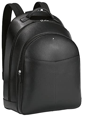 Montblanc MB Sartorial Backpack Large 3 Comp BK Zaino, Nero, Taglia Unica Unisex-Adulto