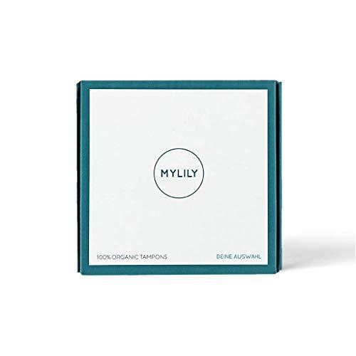 MYLILY® Bio Tampons MIX | 100% Bio-Baumwolle | 0% Chemie | 4x Mini, 8x Normal, 4x Super | zuverlässiger Schutz | leichtes Einführen
