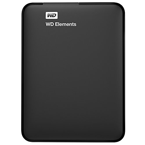 WD Elements - Disco duro externo de 1 TB (USB 3.0), color