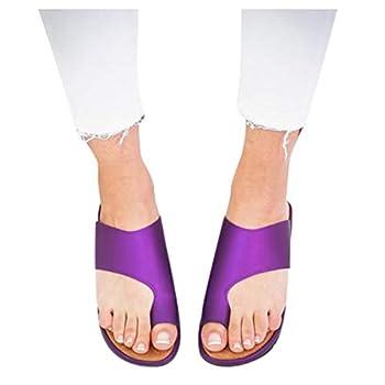 Sandals for Women Wide Width,2020 Comfy Platform Sandal Shoes Comfortable Ladies Shoes Summer Beach Travel Shoes Sandals Purple