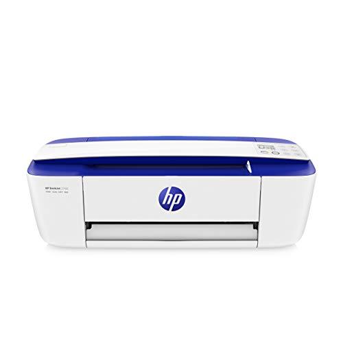 HP DeskJet 3760 T8X19B Stampante Fotografica Multifunzione A4, Stampa, HP Scroll Scan, Wi-Fi, Wi-Fi Direct, HP Smart, No Stampa Fronte Retro Automatica, 4 Mesi di HP Instant Ink Inclusi, Blu