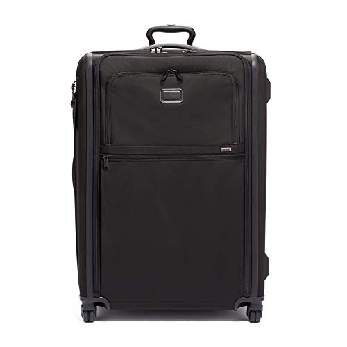 TUMI - Alpha 3 Extended Trip Expandable 4 Wheeled Packing Case Suitcase - Rolling Luggage for Men and Women - Black