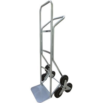 Roughneck Stair Climber Hand Truck - 550-Lb. Capacity, Solid Rubber Tires