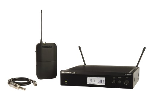 Shure BLX14R Rack Mount Wireless System with Bodypack and WA302 Instrument Cable for Guitar/Bass (Discontinued by Manufacturer)
