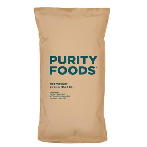 Purity Foods VitaSpelt Non-GMO Reservation White 25 NEW before selling ☆ l Flour Unbleached Spelt