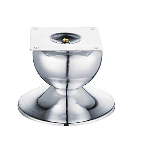 Möbelstützbeine, Legierungsmaterial Starke Tragfähigkeit Geeignet für Couchtisch-Schlafsofa und andere Möbel/Silber / 87mm