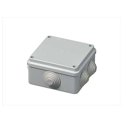 Vigor-Blinky EC400C4 Cassetta di Derivazione con Passacavi, Grigio