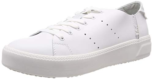 Tamaris Damen 1-1-23730-22 Sneaker, Weiß (Wht Met.St 31), 39 EU