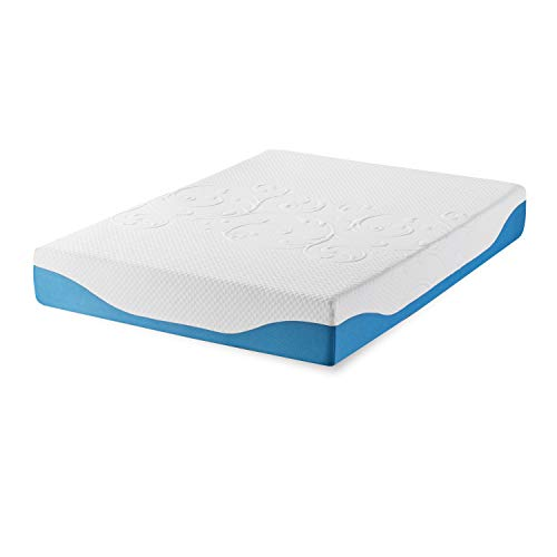 Synwell Sleep Cool and Firm Gel Infused Ergonomic Memory Foam Mattress, 10 Inch, Queen, CertiPUR-US Certified
