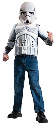Imagine by Rubie's Star Wars Child's Boxed Stormtrooper Muscle Chest Shirt Set