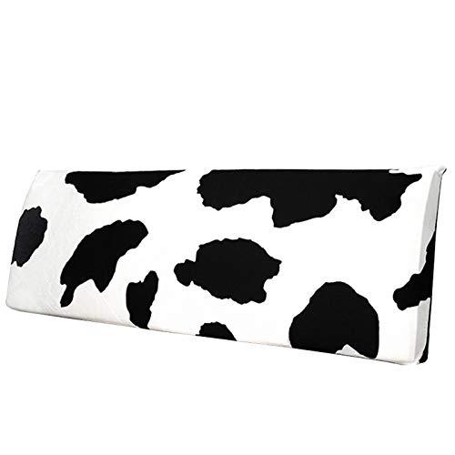 ZCRFYY Funda de cabecero cabecero de Madera Paquete Suave Funda de cabecera Funda de cabecera de Gama Alta 120cm-200cm,Cows,65x150cm