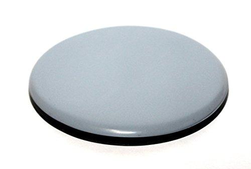 8x Teflon-Möbelgleiter 80 mm rund selbstklebend 5 mm dick pfte Teflongleiter Gleiter f. Stühle u. Schränke f. Parkett u. Fliesen von DS-Computerwelt