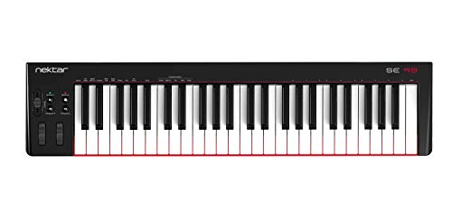 Nektar Controlador de teclado MIDI USB SE49 con integración Nektar...