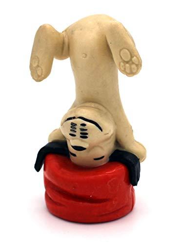Wum und Wendelin *Vintage* WUM (WIM) Macht den Kopfstand auf dem roten Hocker (aus Aktion Sorgenkind) - Größe ca. 7cm