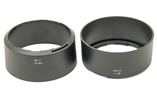 PROtastische vervanging HB-47 HB47 Lens Hood *** 2 PACK *** Voor Nikon 50mm f/1.8G AF-S & 50mm f/1.4G AF-S Lenzen