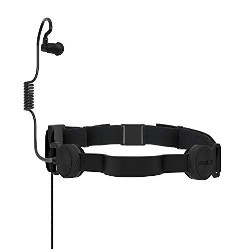 I A S U S NT3-R Black Ops 2 Throat Mic Headset with Acoustic Coil Earpiece