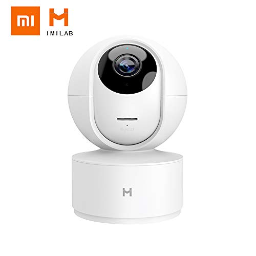 Mihome Xiaobai IMILAB Kamera 360 Grad 1080P Wireless Home Security Kamera Verbesserte Nachtsicht HD Baby Monitor mit Bewegungsverfolgung Free Cloud Record