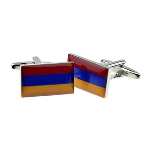 Ashton en Finch Armenië Vlag Manchetknopen