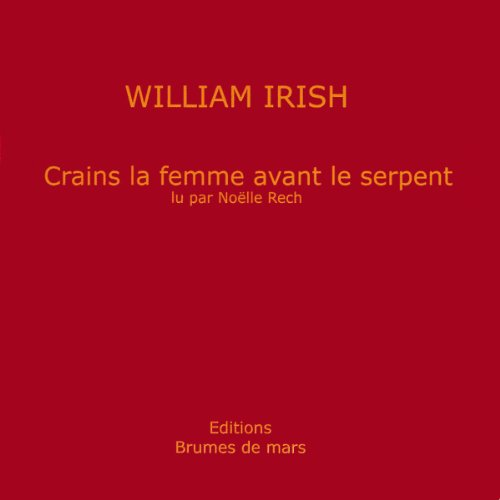 Crains la femme avant le serpent  cover art