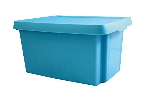CURVER   Box essentials 16L avec couvercle, bleu, OPP Box, 29,8x39,4x20,9 cm