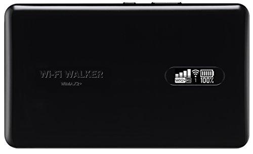 UQコミュニケーションズ Wi-Fi WALKER WiMAX 2+ NAD11 ブラック