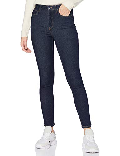 Lee Scarlett Ultra HI Body OPTIX Jeans, Enjuague, 33W x 33L para Mujer