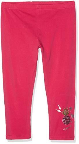 Desigual Mädchen Girl Knit Cross Leggings, Rot (Pink Fuschia 3022), 128 (Herstellergröße: M)