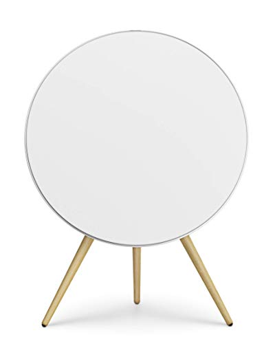 Bang & Olufsen Beoplay A9 4th Gen Wireless Multiroom Speaker, White with Oak Legs