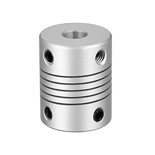 SUOFEILAIMU-PHONE CASE Metal Acoplador de 5 mm a 8 mm de Acoplamiento Flexible para un Conector del Motor 2/5/6/6.35/8 / 10mm Acoplamiento de Eje 25x19mm (Inner Diameter : 8x8)