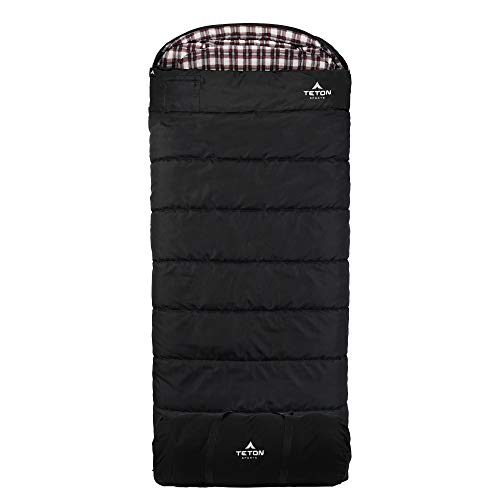 TETON Sports Outfitter XXL Sleeping Bag; Warm and Comfortable for Camping