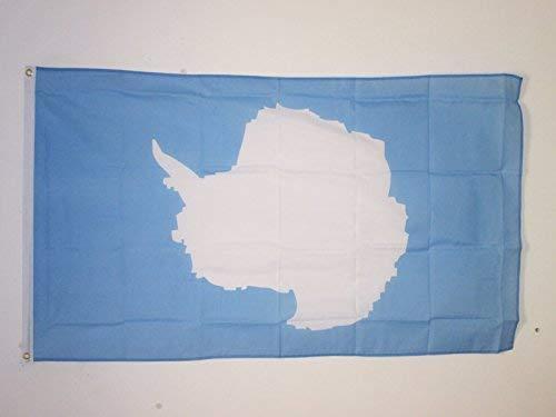 Zudrold Antarktis Flagge 3 'x 5' Antarktis Kontinent Flaggen 90 x 150 cm Banner 3x5 ft
