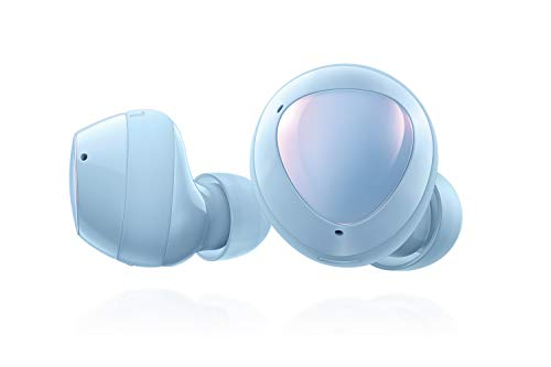 Samsung Galaxy Buds+ Plus, True Wireless Earbuds (Wireless Charging Case included), Cloud Blue – US Version