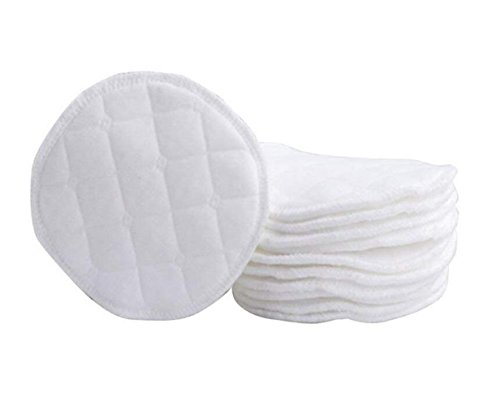 Ericotry Lot de 12 coussinets d'allaitement doux et confortables en coton bio - Sans stimulation - Respectueux de l'environnement - Lavables