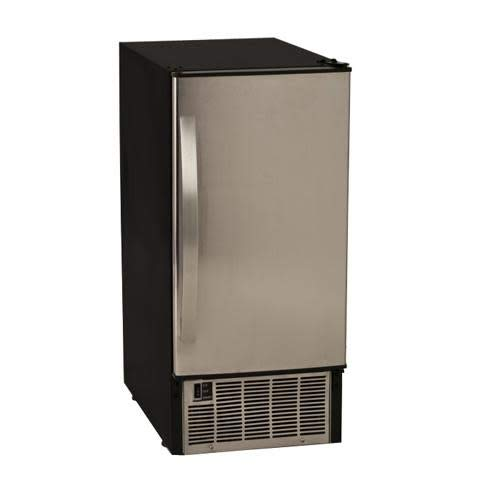 EdgeStar IB450SS 50 Lb. 15 Inch Wide Undercounter Clear Ice Maker - Stainless Steel