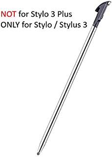 for LG Stylo 3 LS777 LCD Touch Screen Stylus Pen Replacement Parts Pointer Color Silver