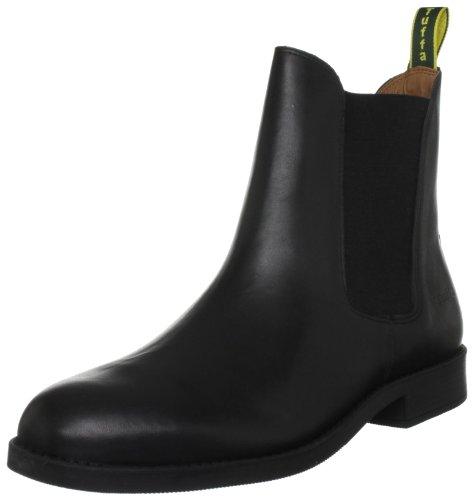 Tuffa Polo Jodphurstiefel aus Leder schwarz schwarz Size 39