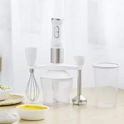 Staafmixer Elektrische keuken Draagbare keukenmachine Mixer Juicer Multifunctionele functie Snel, wit