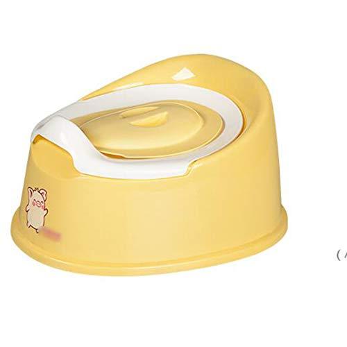 XLY Intelligente Potty, Rosa Pallido Bianco Multicolore Bowl for Kids Giraffe Motivo Vasino Bambini WC Sedile del Water Toilet Seat Allenatore,Giallo