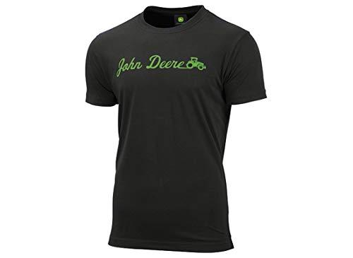 John Deere T-Shirt Drive Schwarz (M)