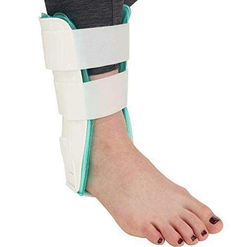 Premium Air Stirrup Ankle Brace Stabilizer with Air & Gel Cold Therapy - One Size Fits All