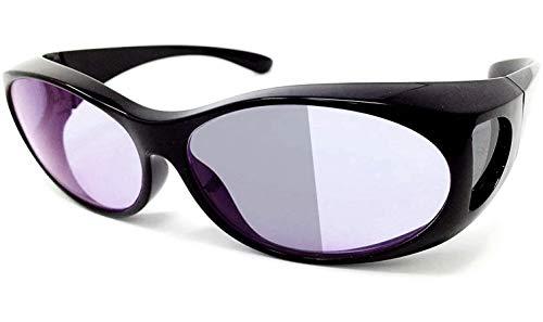 昼夜兼用 ネオコントラスト シェード (UVで色が濃くなる) 調光レンズ UV99.99%カット オーバーグラス も可 夜間 運転 ドライブ サングラス 福井県 鯖江産 ホプニック研究所 SC20K