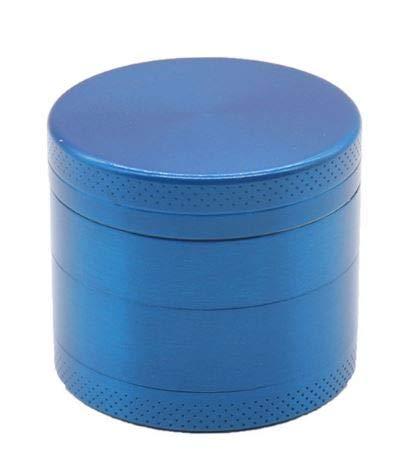 ShopBlueSky コンパクト たばこミキサー 布ケース パイプスクリーン 15枚セット マルチミル 煙草グラインダ ハーブミル スパイスミル パイプ用の葉 刻み研磨機 煙草 グラインダー 手巻き パイプ ミル タバコ 多色 (Blue)