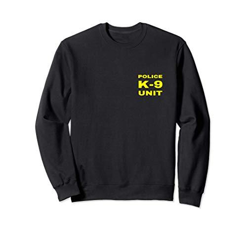 Police K-9 Unit Double Side Front & Back Print Dog Handler Sweatshirt