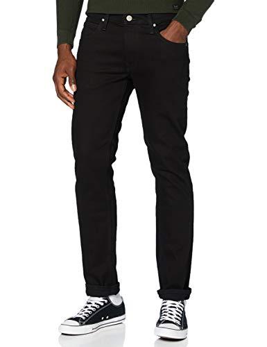 Lee Daren Zip Fly Jeans, Clean Black, 34W x 32L para Hombre